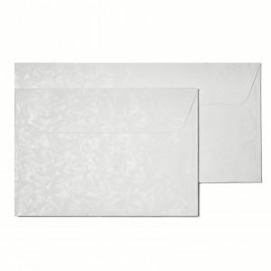 modele kopert ozdobnych - białe róże